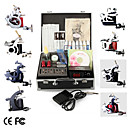 kit de tatouage pro 8 power tip canons aiguilles d'alimentation en encre la peau (ly281)