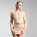Long Sleeves Two-piece Cashmere Dress / Women's Cashmere Sweaters(FF-C-Bl0681009)