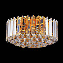 7-light Gold Color Bright Chrome K9 Crystal Ceiling Light (1069-J9850-X7)