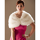  Faux Fur Special Occasion/ Wedding Shawl