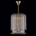 5-light Gold Color Bright Chrome K9 Crystal Chandelier (1069-J9863-D5)