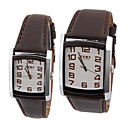 EYKI Japnese Quartz Movement Rectangular Case Couple His-and-hers Watches