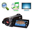 "HD 1280 * 720 @ 30fps 5MP 8xdigital zoom videocamera digitale con 3.0 ""LCD TV registratore vocale schermo HDMI OUT (HD-A80)"