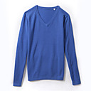 Men's V Neck Cashmere Sweater