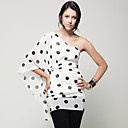 TS Girly One Shoulder Polka Dot Dress