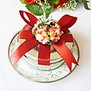 Clear Top Favor Tin With Red Bow (Set of 6)