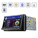 2 Din Car DVD Player 7 Inch Motorized Touchscreen with GPS + Original Sygic GPS Map Card