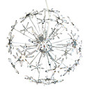 Egypt Imported Crystal 12-Light Chandelier in Firework Ball Shape