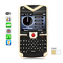 Mega Quad SIM Cell Phone with QWERTY Keypad + WiFi (Metal Casing, Quadband)