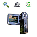 "hd 1280 * 720 @ 30fps 5MP 8xdigital zoom digitale video camera met 2.0 ""LCD-scherm pc camera tv out functie (hd-1288)"
