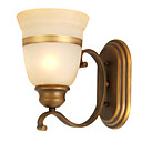 1-light Glass Wall Sconce
