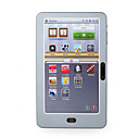 7 pollici e-book reader con tocco screen/4g/mp3/fm/voice registratore (grigio)