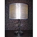 Table Light with Crystal Ball Featured Light Pole (E27 Bulb Base)