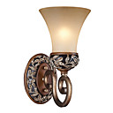 1-light Fabric antique Wall Sconce