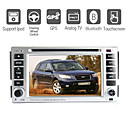 6,5 polegadas dvd player para carro hyundai com GPS Bluetooth rds