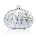 Gorgeous Stainless Steel With Sequins Evening Bag Handbag Purse Clutch