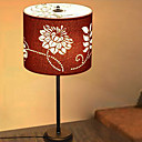 Fabric Table Light with Floral Pattern in 3 Color (Black, Red, Brown)