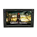 7 &quot;del coche de la pantalla tctil digital de 2 din dvd-rotacin de men-gps-RDS-BT-ipod-rueda de pepita-control de la direccin-tv (szc6016)