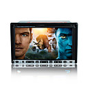 "7 ""digitale touch screen 2 din auto dvd speler-gps-radio-dvb-t-bluetooth-ipod-stuurwiel controle"