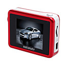 1.8 Inch Display Night Vision Car DVR + Car Black Box, CMOS Sensor - Red