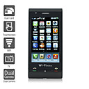 C5000 - Dual SIM 3.2 Inch Touch Screen Cell Phone Black (WIFI Dual Camera TV JAVA)