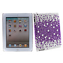 Bling Crystal Diamond Cover Case for iPad 2(purple)