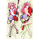 Angel Beats! Yui Dakimakura Pillow Case