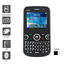 World Phone - Triple SIM 2.2 Inch Qwerty Keyboard Cell Phone (TV FM G-Sensor)