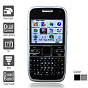 Dual SIM 2.2 Inch Qwerty Keyboard Cell Phone (WIFI Dual Camera Quadband TV JAVA)