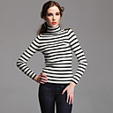 TS Navy Striped Turtle Neck Sweater