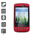 F913 - Four SIM 3.0 Inch Touch Screen Cell Phone (Dual Camera, TV, FM)