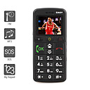 Senior Citizen - 1.8 Inch Bar Phone Black (FM MP3 Player)