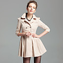 TS Pleated Trench Coat