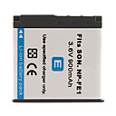 900mAh 3.6V Digital Camera Battery NP-FE1 for SONY Cyber-shot DSC-T7 and More