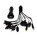 10 in 1 usb caricatore multi-cavo per iPhone / iPod / ipad / samsung / lg / nokia / sony ericsson / motorola / psp
