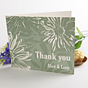 Folded Thank You Card - Daisy(set of 50)