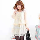 TS Lace Embroidered Dress Top