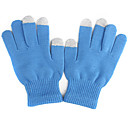 dot handschoenen voor iPhone en iPad (blauw)