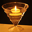 Crystal Glass Floating Candle Holder