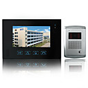 Wired Intercom 7 Inch Touch Screen Video Door Phone with Night Vision Camera (1 Camera To 1 Monitors)