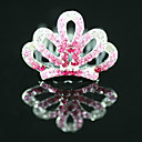 Gorgeous CZ Cubic Zirconia Wedding Flower Girl Tiara/ Headpiece More Colors Available