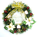 40CM Gold Christmas Wreath