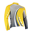 Santic - Men's Cycling Jacket  With 100% Polyster Winter 2011 Yellow Color