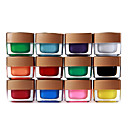 12 Colors Mix Pure Colors UV Builder Gel Nail Art