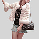 3/4-Length Sleeve Faux Fur Special Occasion Jacket/ Wraps (More Colors)