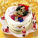 Royal Christmas cake handdoek