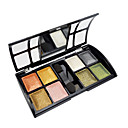 Soft Shimmer 8 Colors Eye Shadow with Free Brush