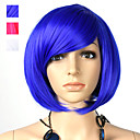 Capless Bob Style Synthetic Party Wig 3 Colors To Choose