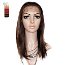 Full Lace Medium Long Silky Straight 100% India Reme Hair Wig Multiple Colors To Choose