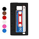 Etui en Silicone Style Cassette pour Samsung Galaxy S2 i9100